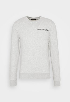 CREW NECK LOGO - Collegepaita - grey melange