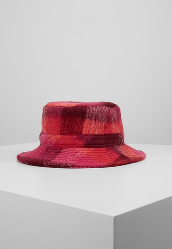 CHECK WOODS BUCKET HAT