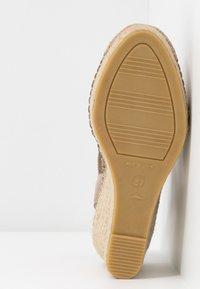 Vidorreta - Højhælede sandaletter / Højhælede sandaler - piedra - 6