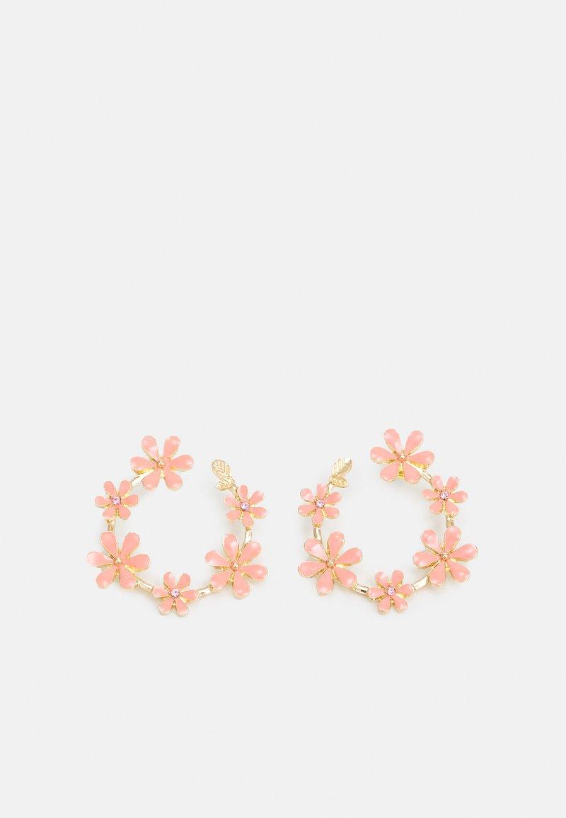 ONLY - ONLDORI FLOWER EARRING - Náušnice - pink lemonade