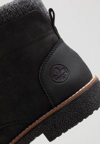 Rieker - Lace-up ankle boots - schwarz/granit - 5