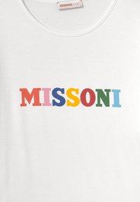Missoni Kids - MANICA CORTA - Print T-shirt - white - 2