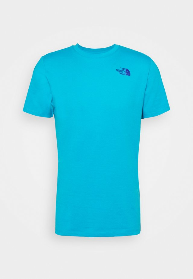 FOUNDATION GRAPHIC TEE - Print T-shirt - meridian blue