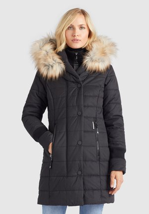 KUBRA - Winter coat - schwarz