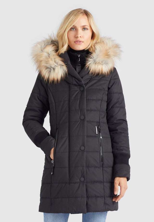 KUBRA - Winter coat - schwarz