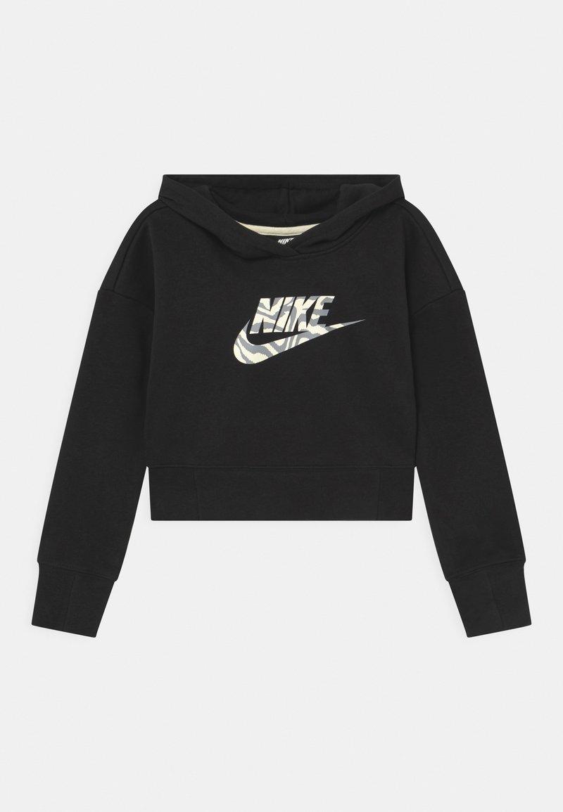 Nike Sportswear - CROP HOODIE  - Sudadera - black