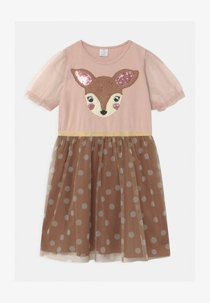 MINI RAINDEER DOT  - Jerseykleid - dusty pink