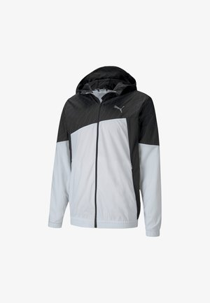 Laufjacke -  white- black
