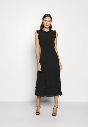 IVORY - Denní šaty - black
