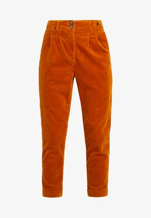 MEGHAN PANTS - Trousers - sudan brown