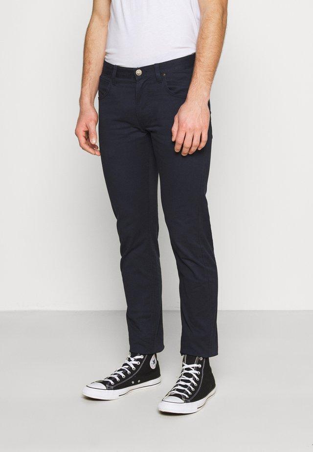 DAREN ZIP FLY - Trousers - sky captain