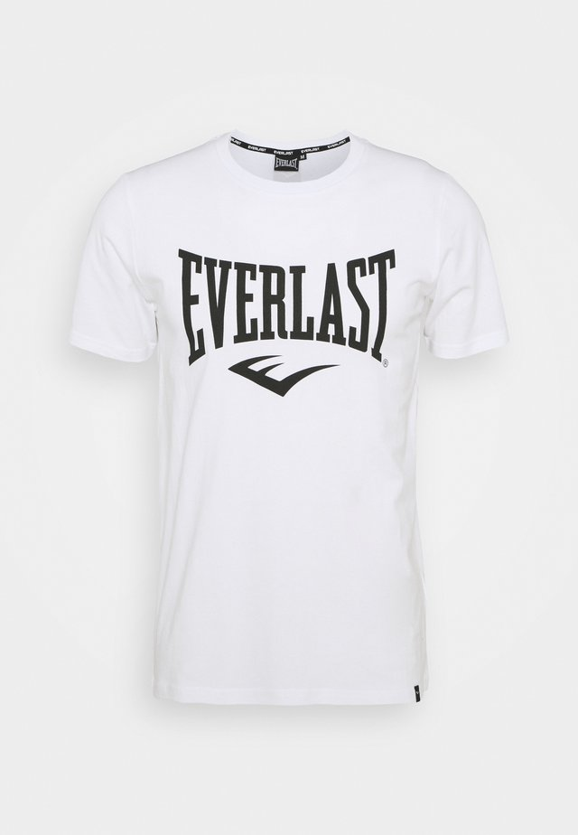 BASIC TEE RUSSEL - T-shirt con stampa - white