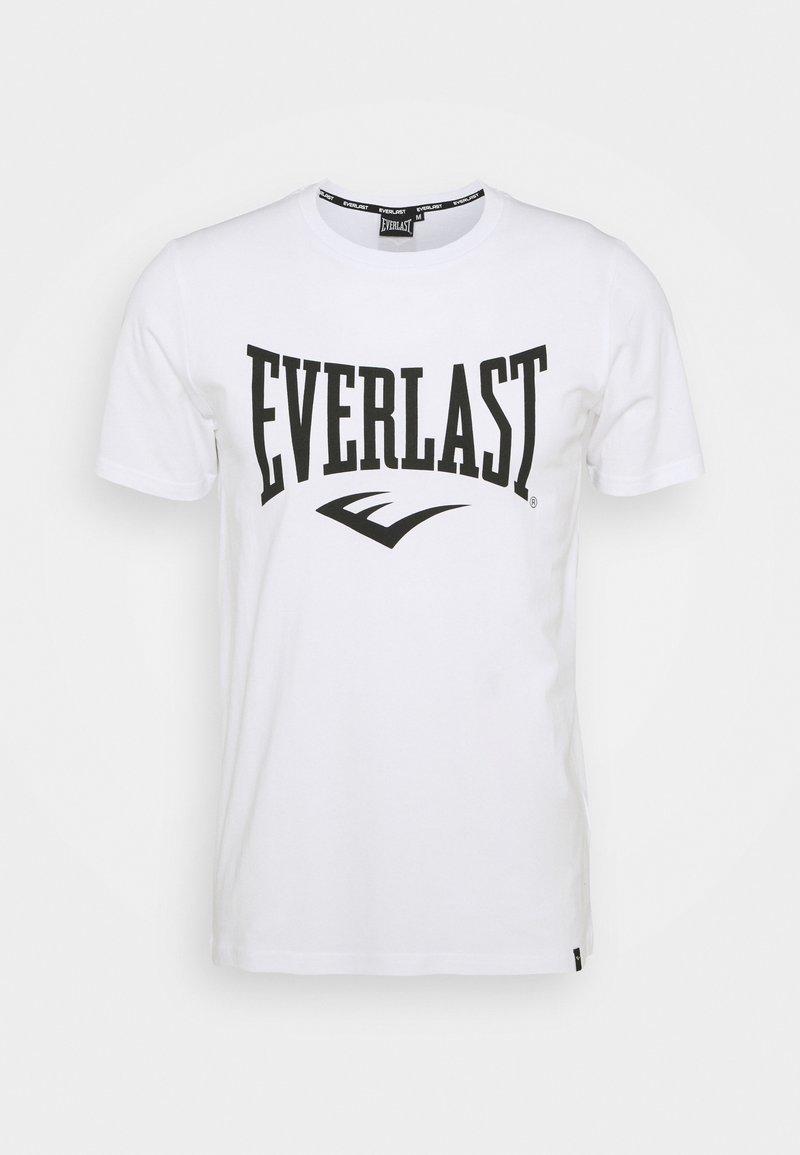 Everlast - BASIC TEE RUSSEL - Triko spotiskem - white