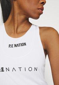 P.E Nation - ZONE IN TANK - Top - white - 4