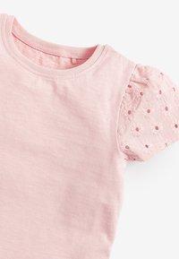 Next - 3 PACK  - Print T-shirt - pink - 5