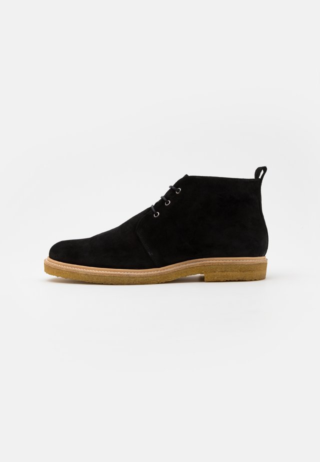 CAST CHUKKA - Casual lace-ups - black