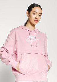Nike Sportswear - AIR HOODIE - Hoodie - pink glaze/white - 3