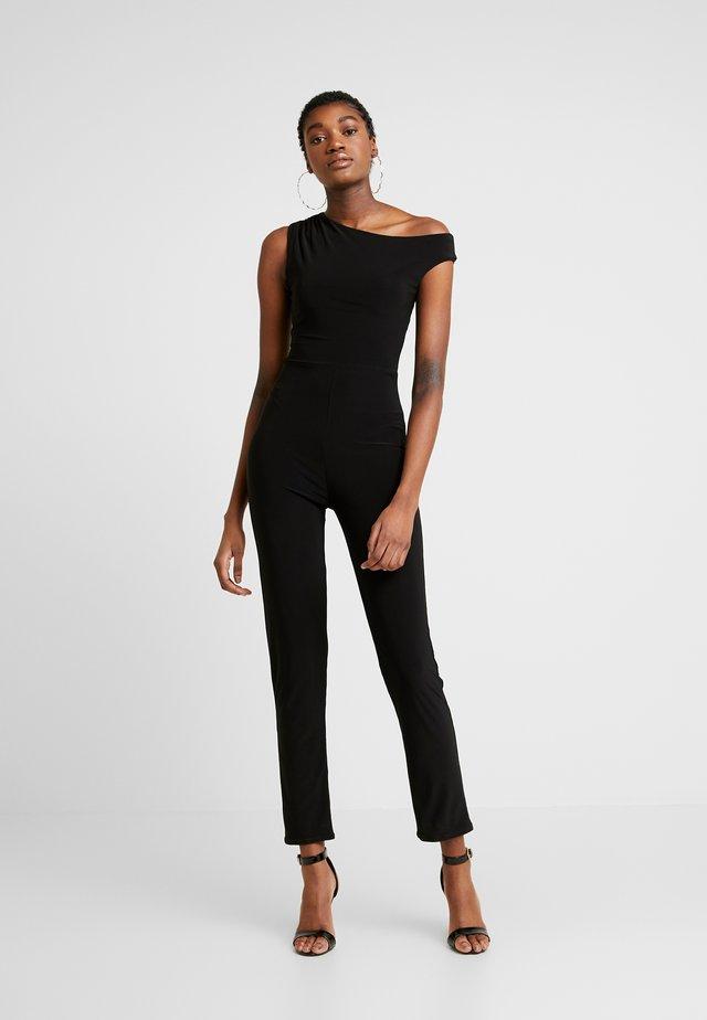 BARDOT CATSUIT - Jumpsuit - black