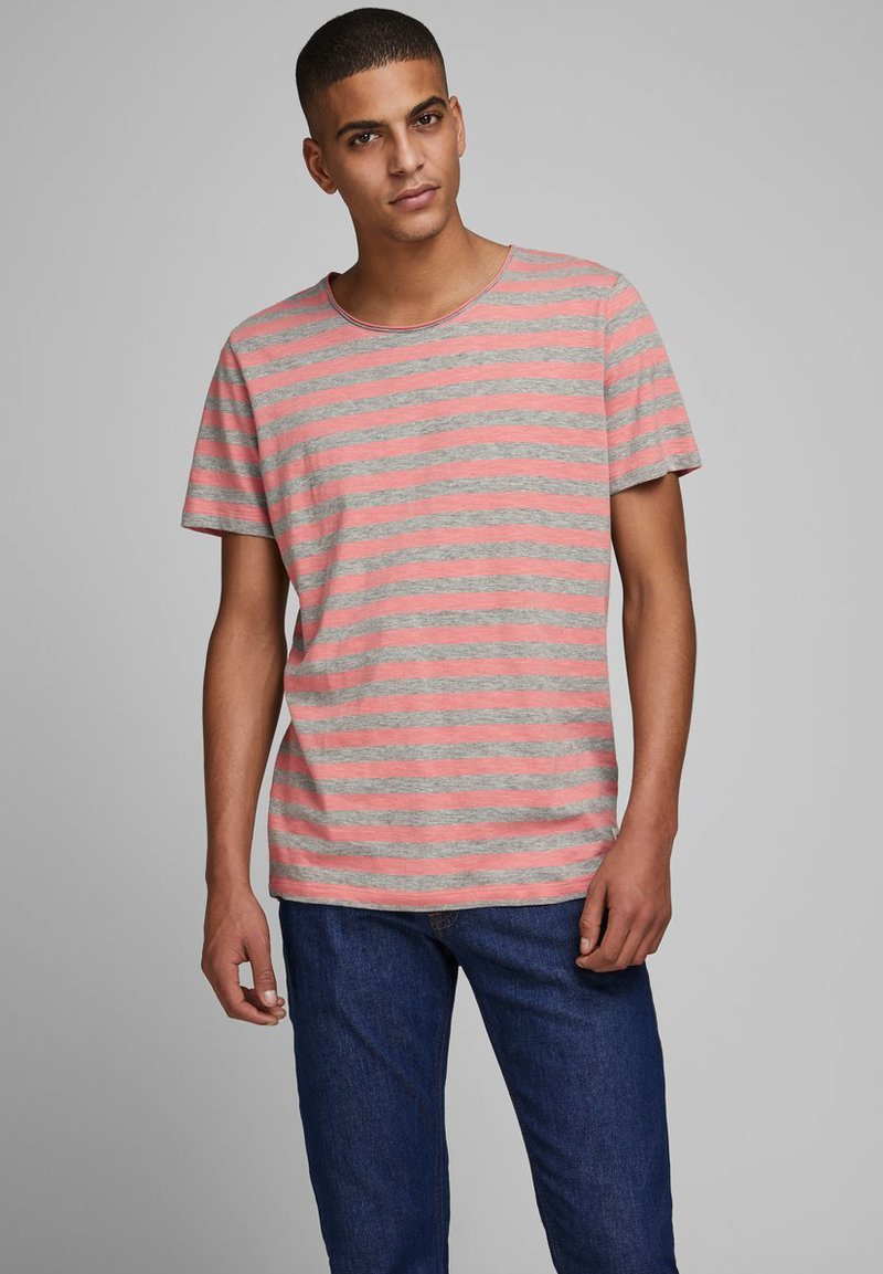 Jack & Jones - Print T-shirt - rosette