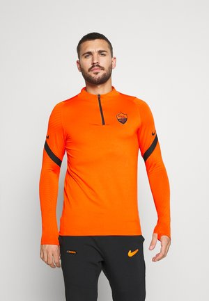 AS ROM DRY SLIM FIT - Klubové oblečení - safety orange/black