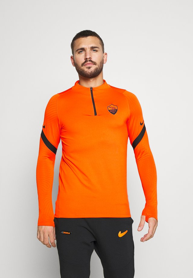 AS ROM DRY SLIM FIT - Article de supporter - safety orange/black