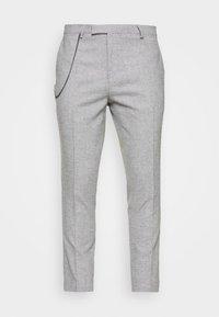 Twisted Tailor - MOONLIGHT CHAIN TROUSER - Pantaloni - light grey - 3