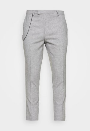 MOONLIGHT CHAIN TROUSER - Trousers - light grey