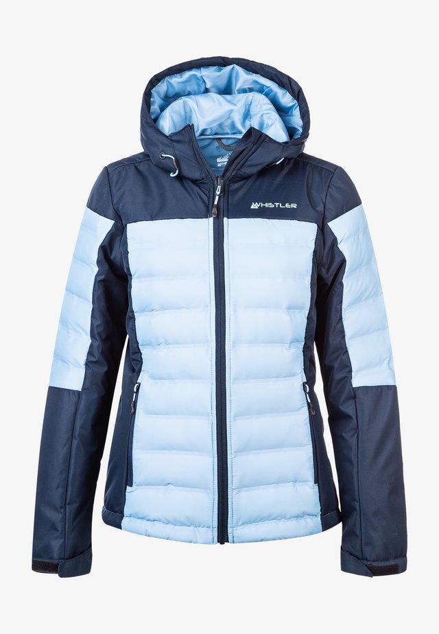 ZIGGA - Ski jacket - hellblau