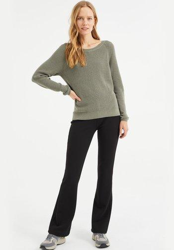 Pullover - moss green