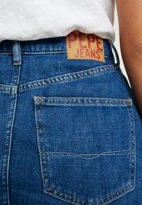 Pepe Jeans - MAXIME - Pleated skirt - denim - 5