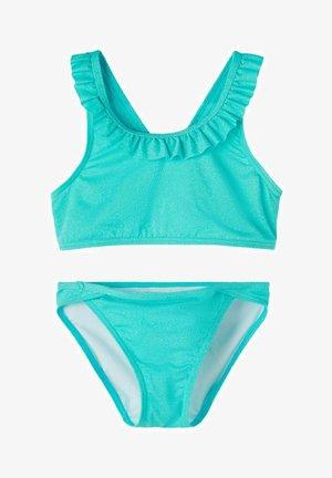 SET - Bikini - peacock blue
