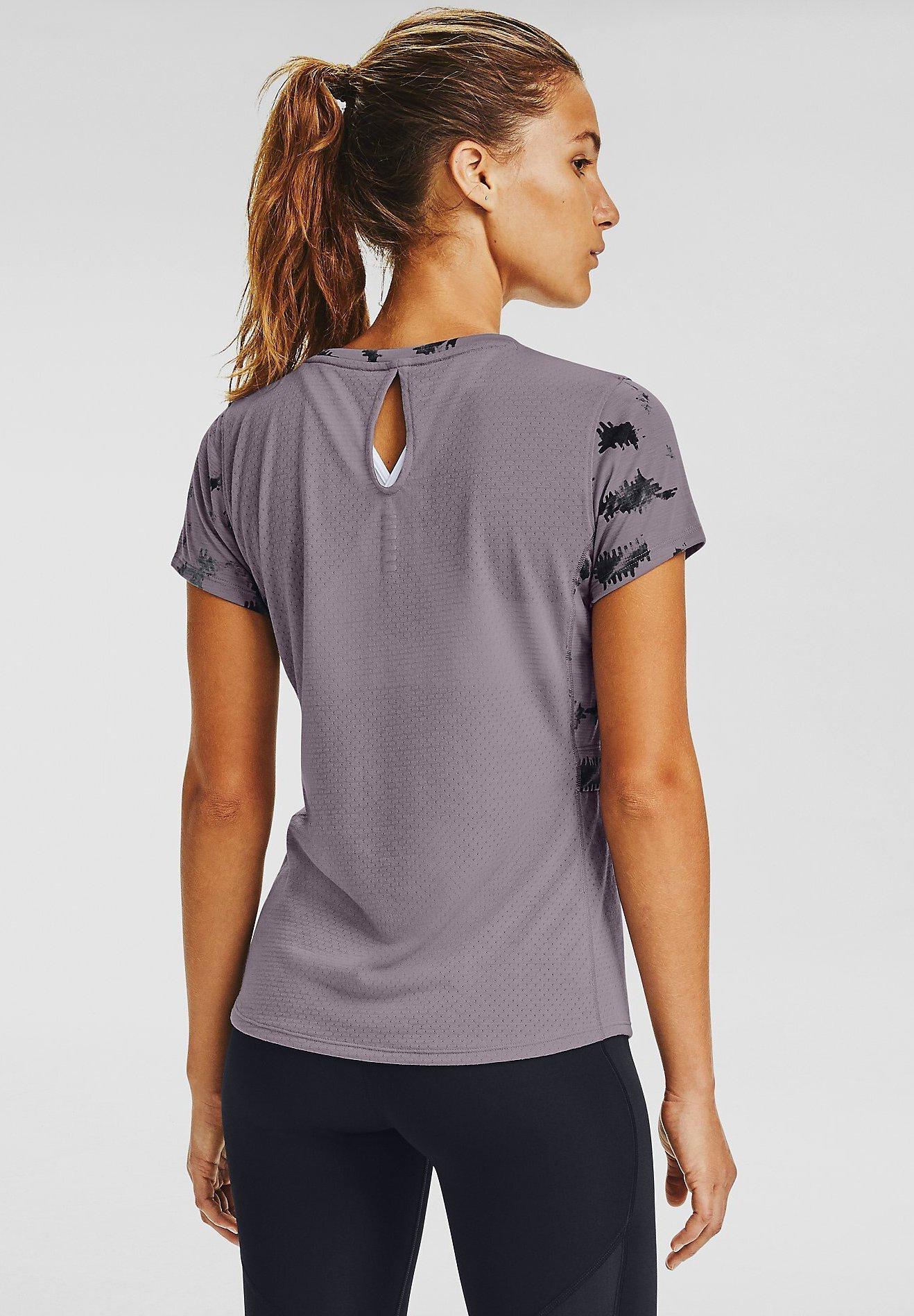 Under Armour Print T-shirt - slate purple vxpan