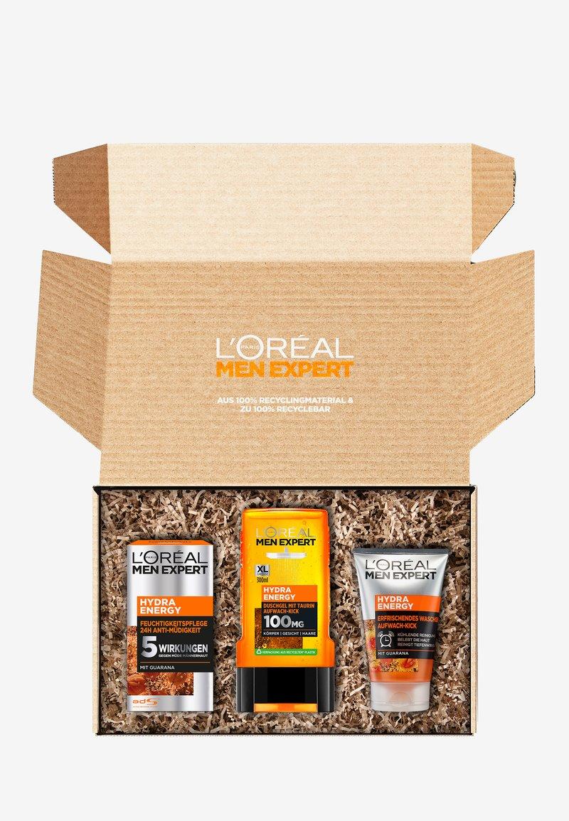 L'Oréal Men Expert - HYDRA ENERGY SUSTAINABLE BOX - Bath and body set - -
