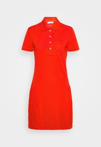 Lacoste - MINI EXTENSIBLE - Day dress - groseillier - 5