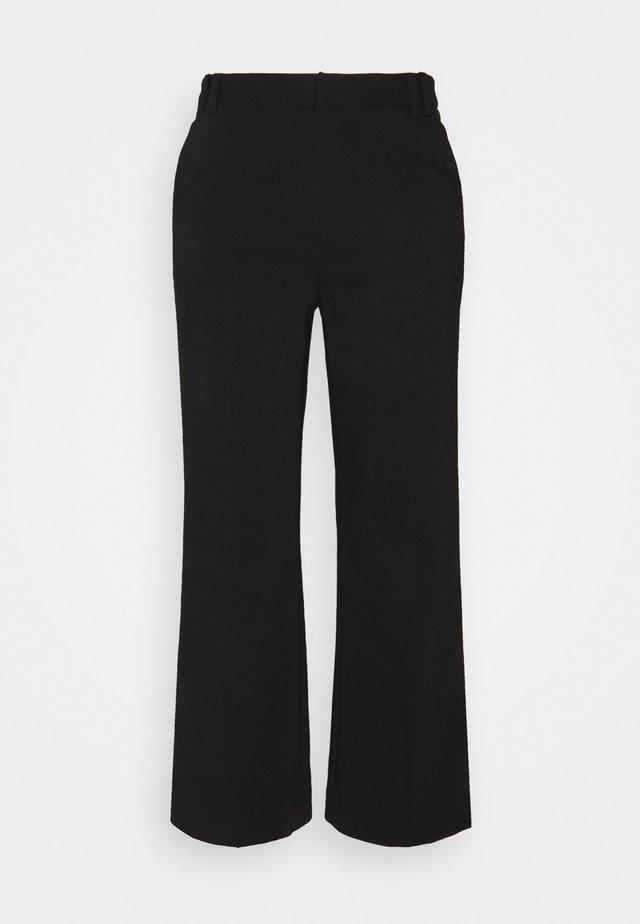 REAGAN TROUSERS - Kalhoty - black