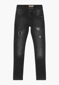 Blue Effect - BOYS HEAVY DESTROYED - Jeans Skinny Fit - black medium - 0
