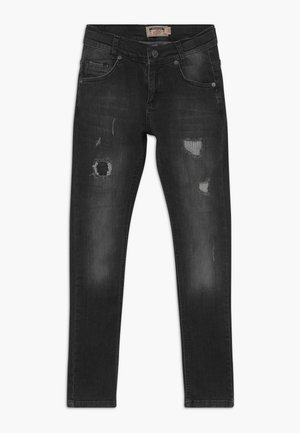 BOYS HEAVY DESTROYED - Jeans Skinny Fit - black medium