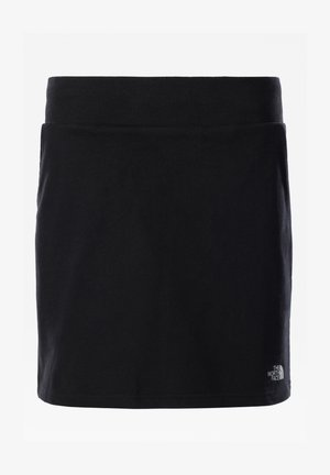 G DREW PEAK LIGHT SKIRT - Mini skirt - tnf black