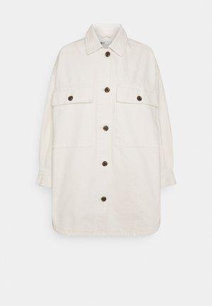 Denim jacket - raw white