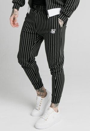 Tracksuit bottoms - black  white