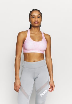 STRAPPY SPORTS CROP - Sport-BH mit leichter Stützkraft - light pink