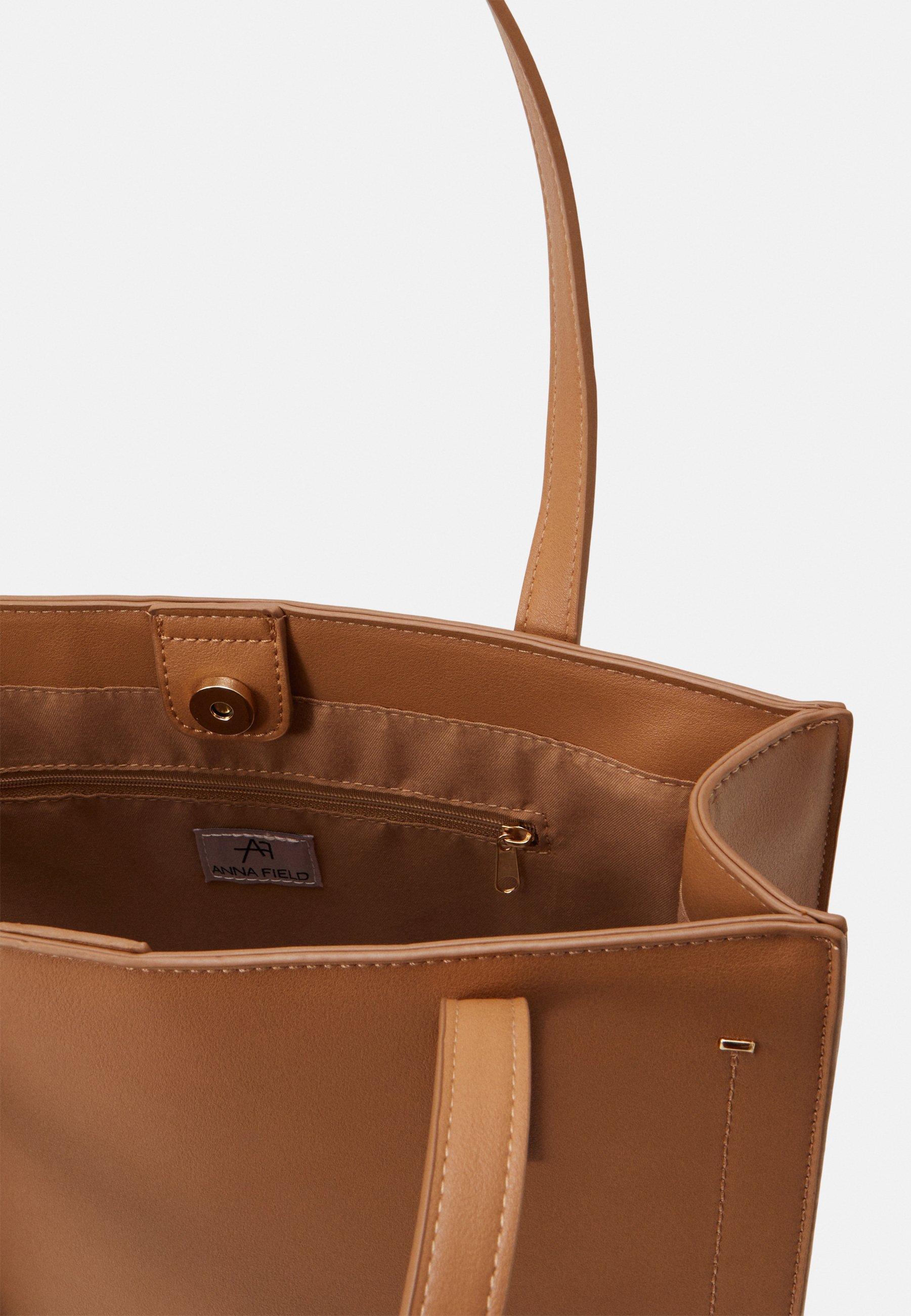 Anna Field Shoppingveske - light brown/lysebrun x9Il3StIiOJqqhD