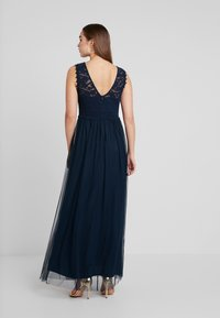 Vila - VILYNNEA MAXI DRESS - Gallakjole - total eclipse