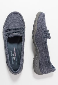 Skechers Wide Fit - SYNERGY 3.0 - Trainers - navy - 3