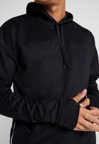 Nike Performance - FC HOODIE - Hoodie - black/white - 6