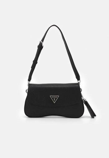 CORDELIA FLAP SHOULDER - Handbag - black