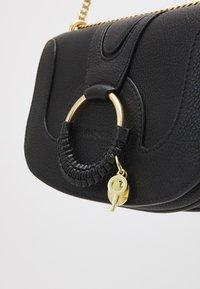 See by Chloé - SHOULDER BAGS - Taška spříčným popruhem - black - 3