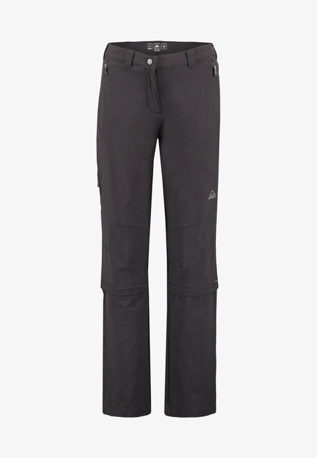 MANDORAK - Trousers - black