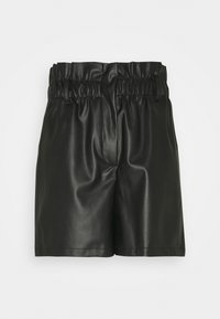 Vero Moda - VMSOLARIE COATED - Shorts - black - 0
