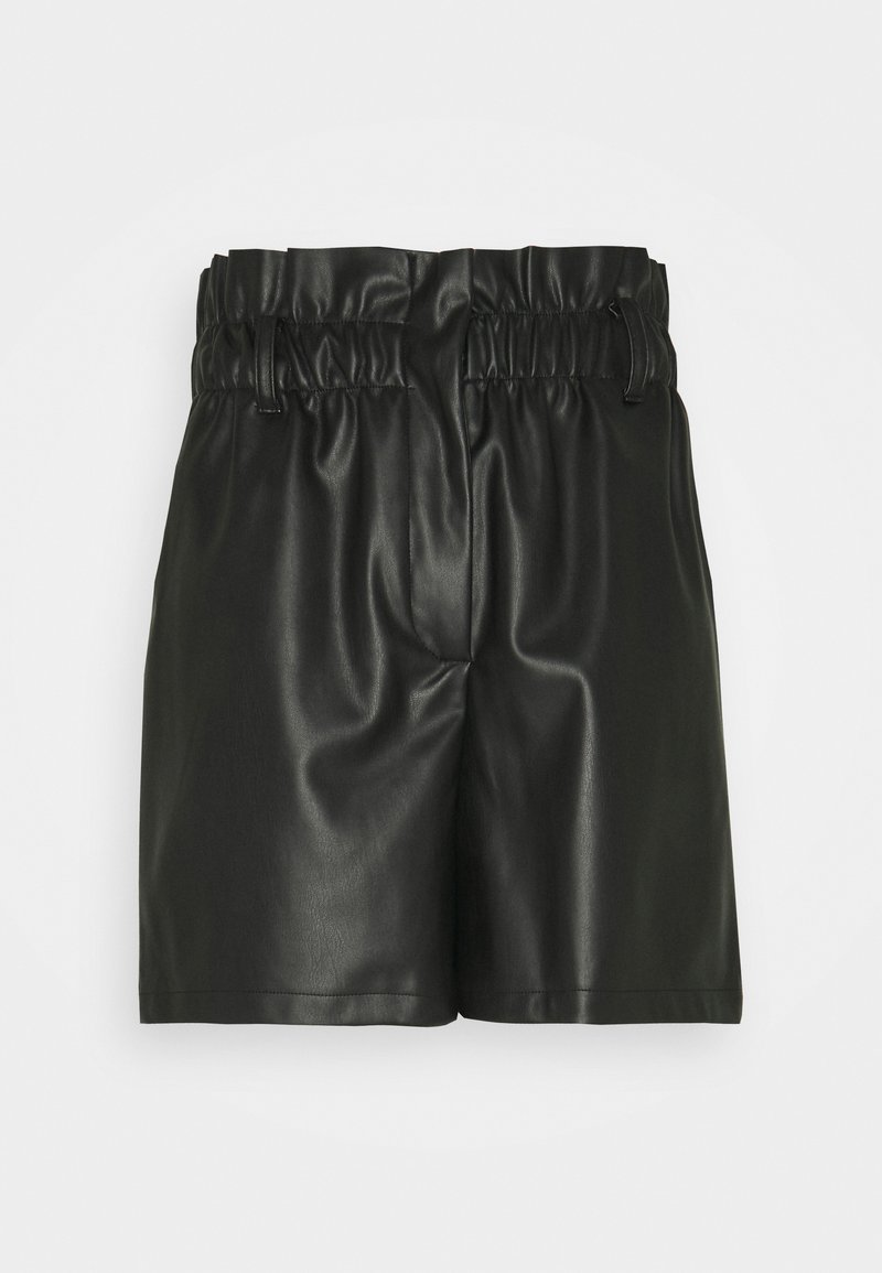 Vero Moda - VMSOLARIE COATED - Shorts - black